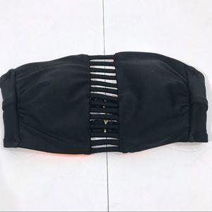 🌷Xhilaration | Black Strapless Bikini Tube Top